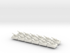 Coastal Battery X12 in White Natural Versatile Plastic
