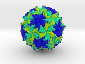 Flock House Virus in Full Color Sandstone