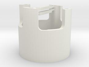 E36-motor bracket in White Natural Versatile Plastic
