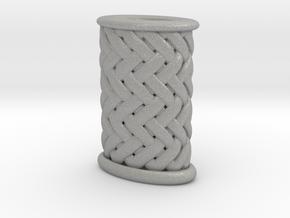 Stiletto-3-Griffstruktur-Small (Handle) Part 3 in Aluminum