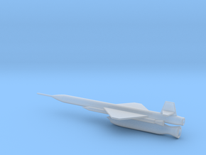 1/144 Scale X-7 Missile in Smooth Fine Detail Plastic