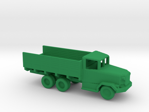 1/200 Scale M36 Truck in Green Strong & Flexible Polished