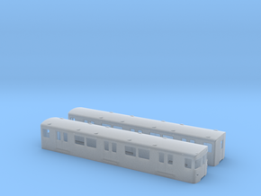 Berlin Baureihe F79  TT [2x body] in Smooth Fine Detail Plastic