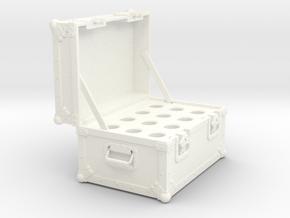 BACK FUTURE 1/8 EAGLEMOS PLUTONIUM BOX OPEN NO BOT in White Processed Versatile Plastic