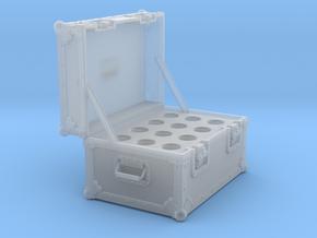 BACK FUTURE 1/8 EAGLEMOS PLUTONIUM BOX OPEN NO BOT in Smooth Fine Detail Plastic
