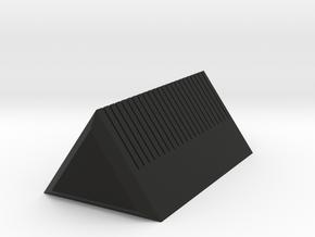 Business Card Holder in Black Natural Versatile Plastic