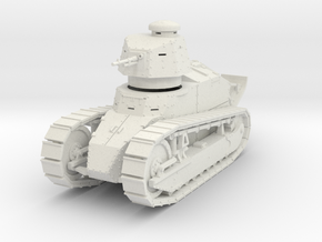 PV08 Renault FT MG (28mm) in White Natural Versatile Plastic