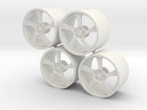 Set HRE-RS102 in White Natural Versatile Plastic