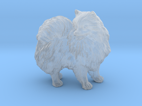 Custom Pomeranian Dog in Smooth Fine Detail Plastic