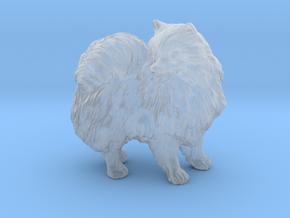 Custom Pomeranian Dog in Frosted Ultra Detail