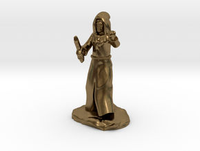 Dragon Cultist with Dagger in Natural Bronze