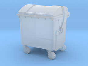 Small trash container in Smooth Fine Detail Plastic: 1:120 - TT