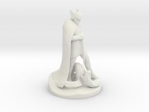 Talos Statue - Skyrim in White Natural Versatile Plastic