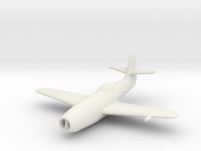 Yakovlev Yak-23 'Flora' in White Strong & Flexible: 1:200