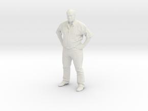 Printle C Homme 019 - 1/32 - wob in White Natural Versatile Plastic