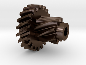 Pinion AHK V2 in Polished Bronze Steel