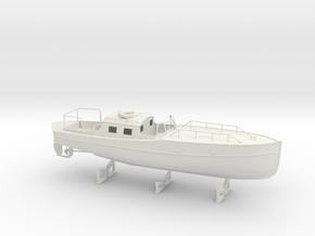 1/32 DKM 11m Admiral's Gig in White Natural Versatile Plastic