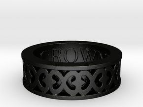 Hope by Crowned in Matte Black Steel: 5 / 49