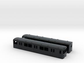 Berlin Baureihe D TT-scale [2x body] in Black Hi-Def Acrylate