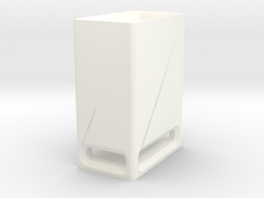 Sound Bar - Sub Box in White Processed Versatile Plastic