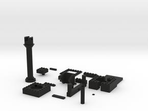 Airsoft Speedloader in Black Natural Versatile Plastic