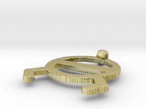 Model-6379ef789714c47ecfc0aa0b6b8d7387 in 18k Gold Plated Brass