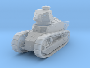 PV09C Renault FT Cannon (1/87) in Smooth Fine Detail Plastic