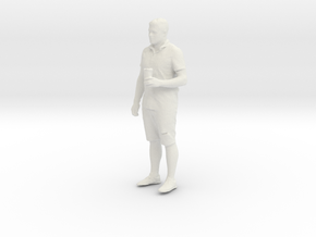 Printle T Homme 091 - 1/32 - wob in White Natural Versatile Plastic