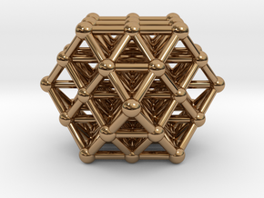 Vector Equilibrium Matrix in Polished Brass