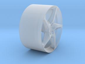 YCID A Ferarri Rear in Smooth Fine Detail Plastic