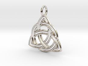 Celtic Knot Pendant in Platinum