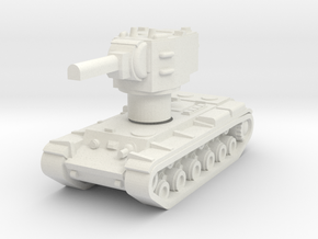 KV2 Rotatable turret in White Strong & Flexible