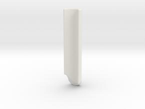 Hand Grips For Four-level Handlebar Part B in White Natural Versatile Plastic
