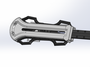 Bracer Attachments for Hidden Blade in White Strong & Flexible