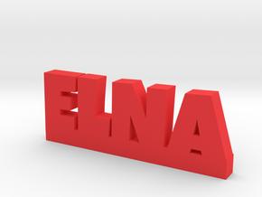 ELNA Lucky in Red Processed Versatile Plastic
