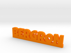BERGRON Lucky in Orange Strong & Flexible Polished