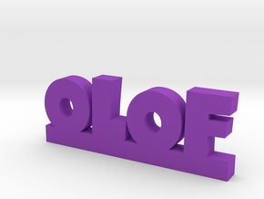 OLOF Lucky in Purple Processed Versatile Plastic