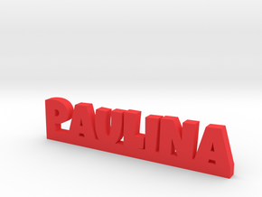PAULINA Lucky in Red Processed Versatile Plastic