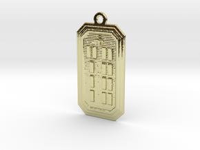 OYEKUNSA in 18k Gold Plated Brass