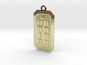 OYEKUNBATRUPON in 18k Gold Plated Brass