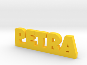 PETRA Lucky in Yellow Processed Versatile Plastic