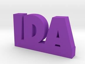 IDA Lucky in Purple Processed Versatile Plastic