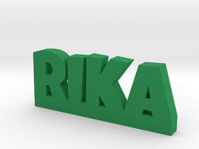RIKA Lucky in Green Processed Versatile Plastic