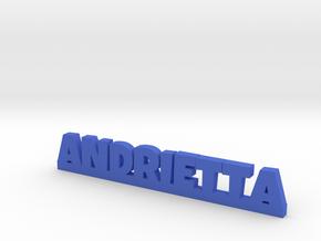ANDRIETTA Lucky in Blue Processed Versatile Plastic