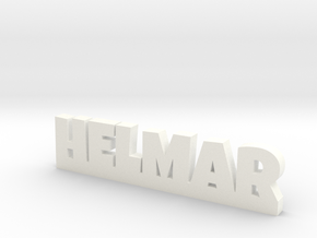 HELMAR Lucky in White Processed Versatile Plastic