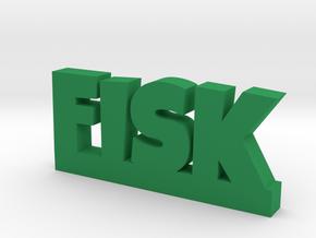 FISK Lucky in Green Processed Versatile Plastic
