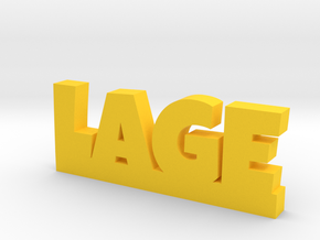 LAGE Lucky in Yellow Strong & Flexible Polished