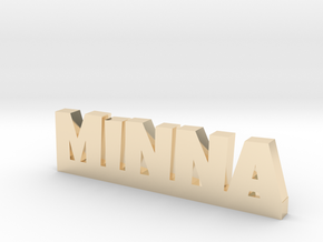 MINNA Lucky in 14k Gold Plated Brass