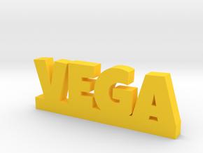 VEGA Lucky in Yellow Processed Versatile Plastic