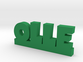 OLLE Lucky in Green Strong & Flexible Polished